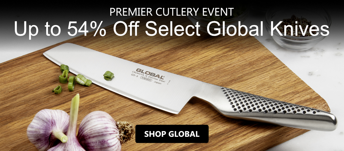 Save upt 54% off Global Cutlery