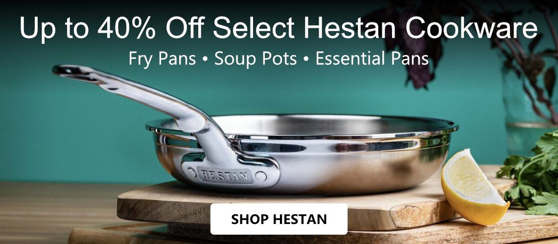 Save up to 40% off Hestan NanoBond Cookware