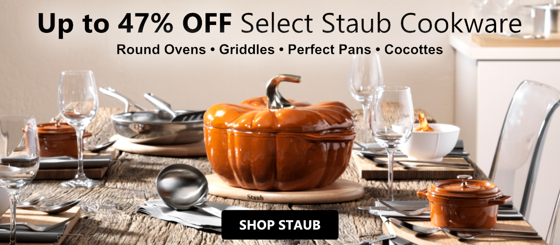 Save up to 47%% off Staub Cast Iron Cookware
