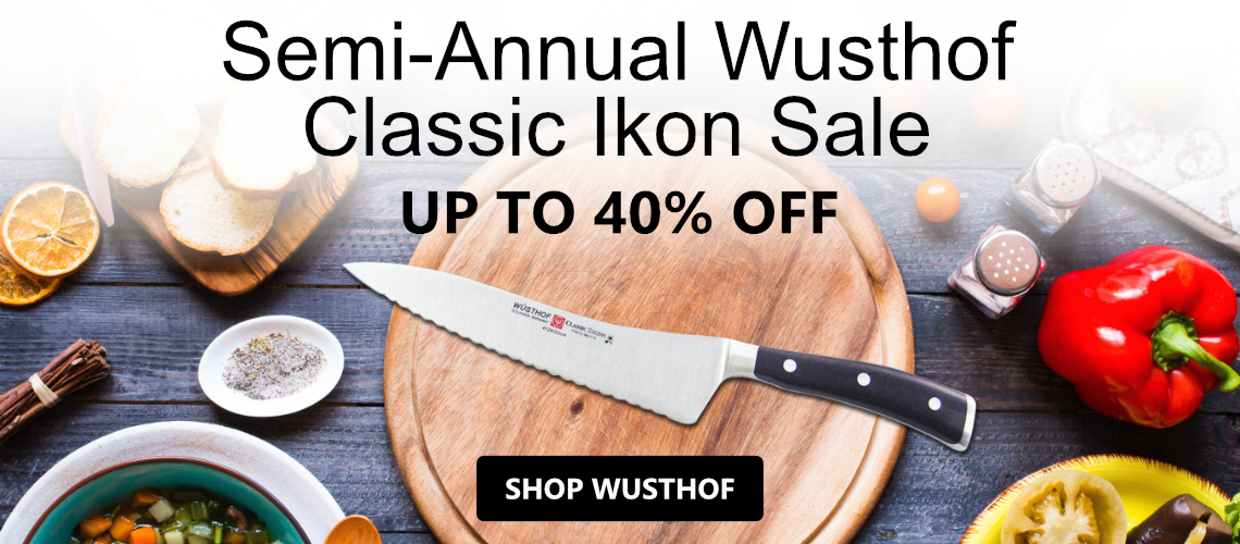 Save up 40% off Wusthof Classic Ikon Knives and more