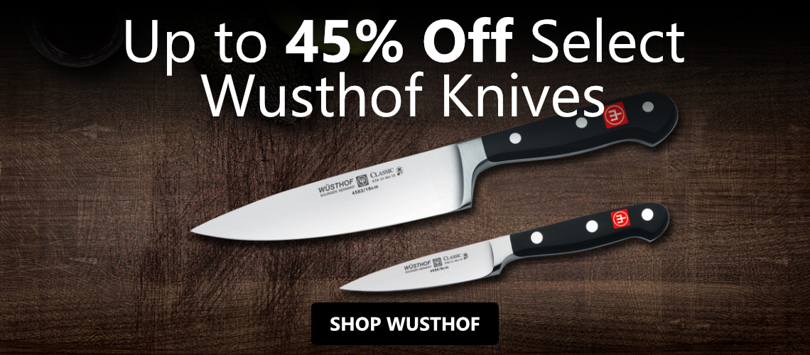 Save up to 45% off Wusthof Cutlery