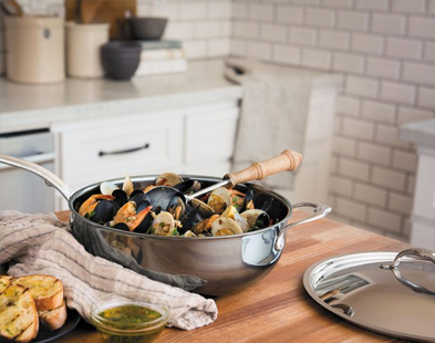 Hestan Nanobond cookware on sale