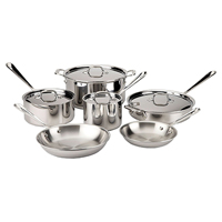 All-Clad d3 Tri-Ply Stainless Cookware Sets