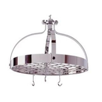 enclume chrome crown pot racks