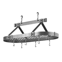 enclume chrome oval pot racks