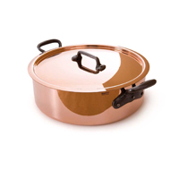 Mauviel M'Heritage 2.5mm Copper Casseroles