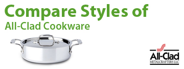 Compare All-Clad Cookware Products