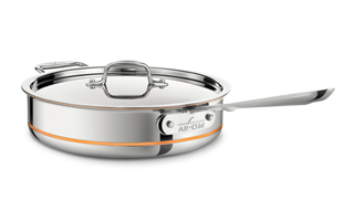 All-Clad Copper-Core Saute Pans