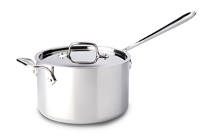 All-Clad Tri-Ply Stainless Sauce Pans