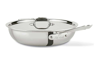 All-Clad d3 Tri-Ply Stainless Saute Pans
