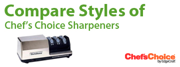 Compare Chef's Choice Electric Knife Sharpeners