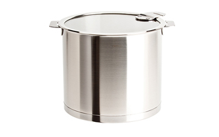 Cristel Strate Removable Handle Brushed Cookware
