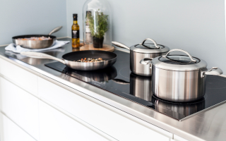 Induction Compatible Sauce Pans