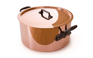 Mauviel M'Heritage 2.5mm Copper Stock Pots