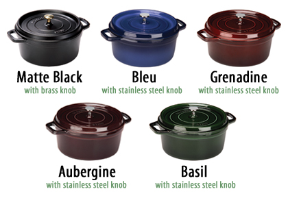 About Staub Cast Iron Cookware La Cocotte From France