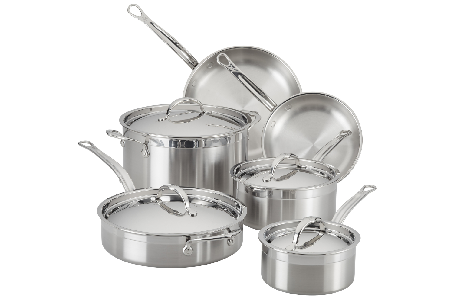 Hestan ProBond Forged Stainless Steel 10 Piece Cookware Set