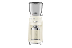 Smeg Retro Style Coffee Grinder - Cream