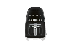 Smeg Retro Style Drip Coffee Maker - Black
