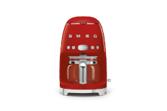 Smeg Retro Style Drip Coffee Maker - Red