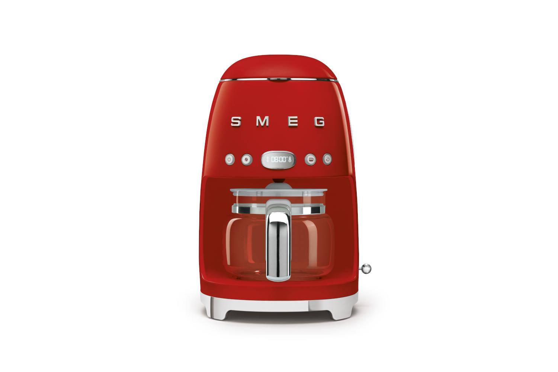 Smeg Retro Style Drip Coffee Maker - Red