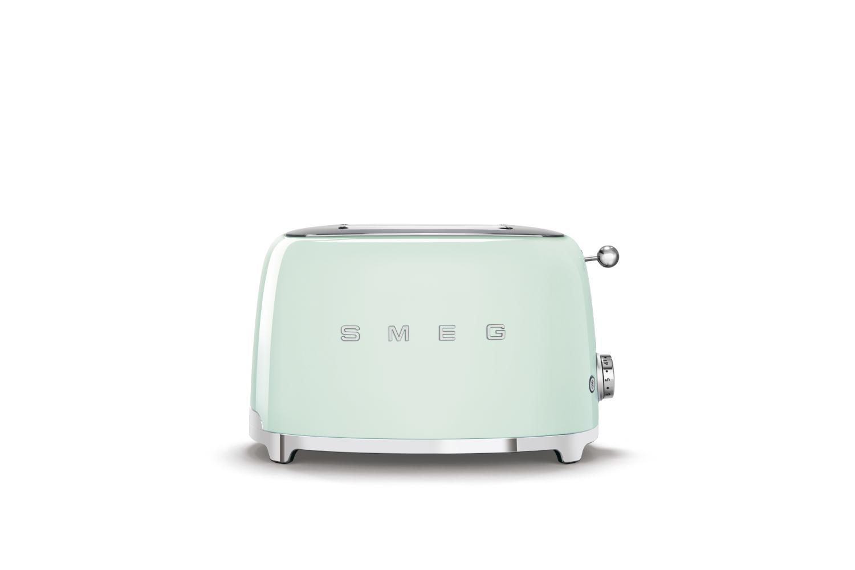 Smeg Retro Style 2x2 Slice Toaster - Pastel Green