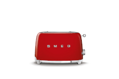 Smeg Retro Style 2x2 Slice Toaster - Red