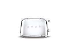 Smeg Retro Style 2x2 Slice Toaster - Stainless Steel