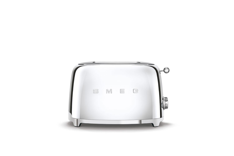 Smeg Retro Style 2x2 Slice Toaster - Stainless Steel
