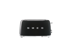 Smeg Retro Style 4 Slice Toaster - Black