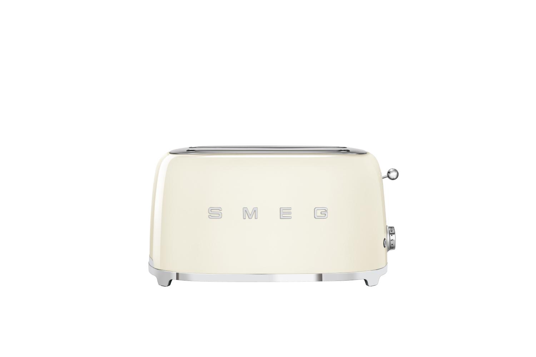 Smeg Retro Style 4 Slice Toaster - Cream
