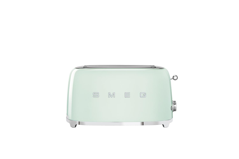 Smeg Retro Style 4 Slice Toaster - Pastel Green