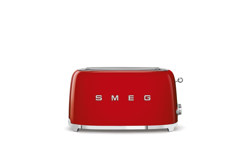 Smeg Retro Style 4 Slice Toaster - Red