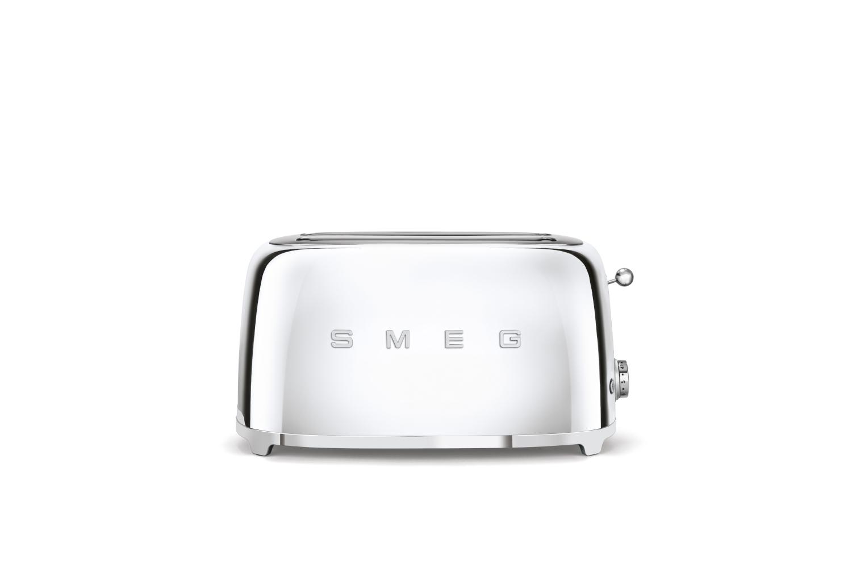 Smeg Retro Style 4 Slice Toaster - Chrome