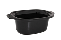 All-Clad 6.5 qt. Replacement Ceramic Insert for Slow Cooker - Black