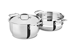 All-Clad Stainless Steel 5 qt. Steaming Pot