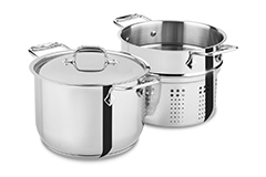All-Clad Stainless 6 qt. Pasta Pot w/Insert