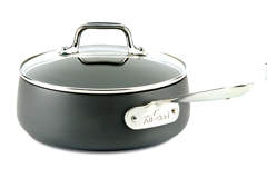 All-Clad HA1 Hard Anodized Nonstick 2.5 qt. Sauce Pan