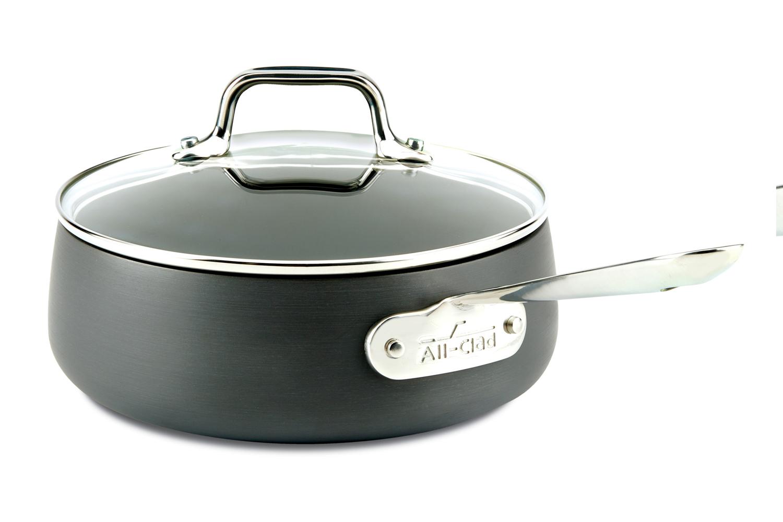 All-Clad HA1 Hard Anodized Nonstick 2.5 qt. Sauce Pan