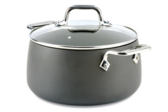 All-Clad HA1 Hard Anodized Nonstick 4 qt. Soup Pot