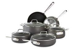 All-Clad HA1 Hard Anodized Nonstick 10 Piece Cookware Set
