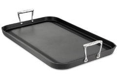 All-Clad HA1 Hard Anodized Nonstick Double Burner Griddle
