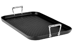 All-Clad HA1 Hard Anodized Nonstick Grande Grille Pan