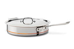 All-Clad Copper-Core 5 qt. Saute Pan