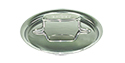 All-Clad d5 Brushed Stainless 10 1/2 inch Domed Lid (391706 NH)