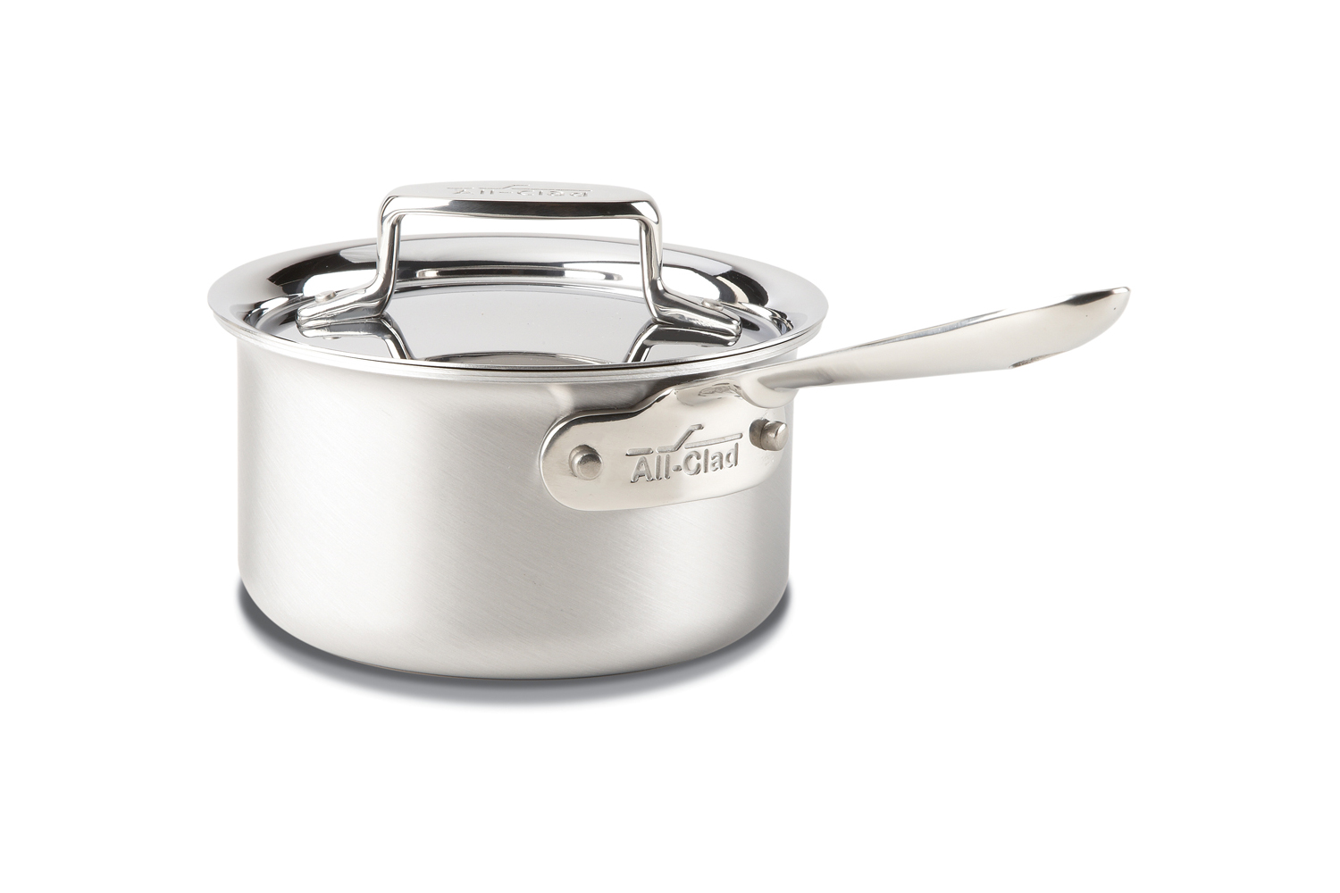 All-Clad d5 Brushed Stainless 1 1/2 qt. Sauce Pan w/Lid