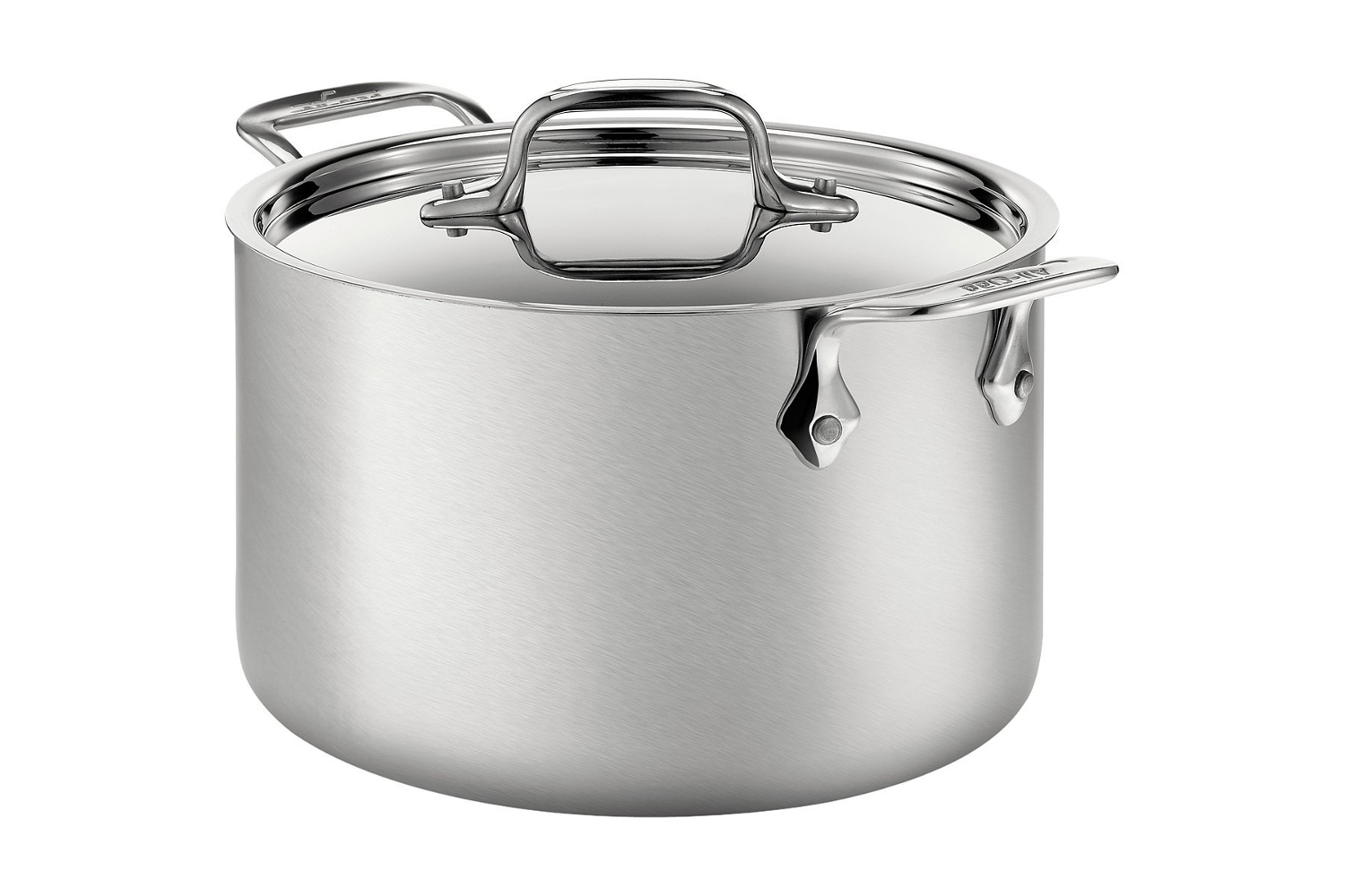 All-Clad d5 Brushed Stainless 4 qt. Soup Pot w/Lid