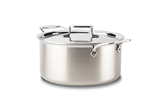 All-Clad d5 Brushed Stainless 8 qt. Stock Pot w/Lid