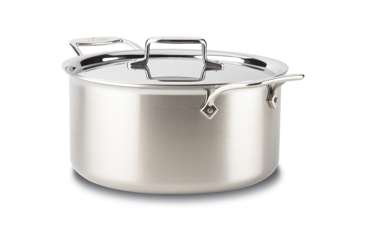 All Clad D5 Brushed Stainless 8qt Stockpot Lid 8701004153