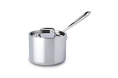 All-Clad d3 Tri-Ply Stainless Steel 2 qt. Sauce Pan w/Lid