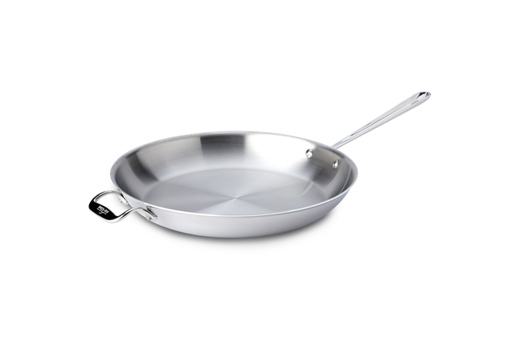All Clad Stainless Steel 14 In Frying Pan Skillet
